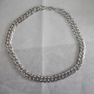 Vintage Silver plated  chain  Substantial